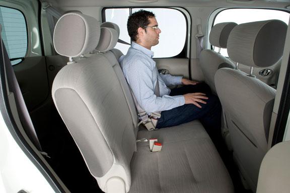 Nissan Cube, la prueba