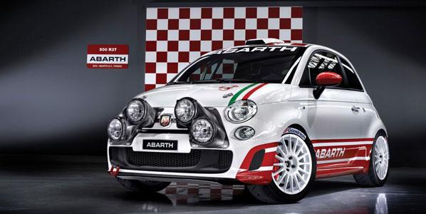 Abarth 500 R3T Rally