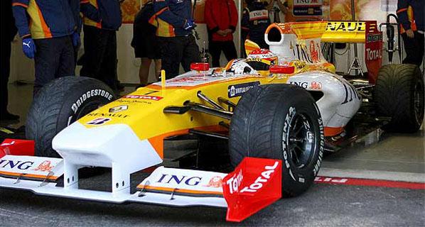 Fernando Alonso en el Mundial 2009