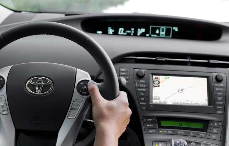 Toyota Prius III: tecnología