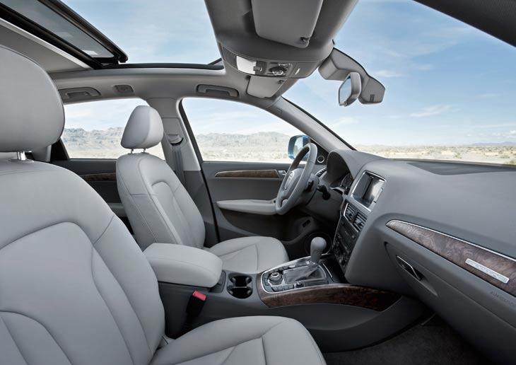 Al volante del Audi Q5