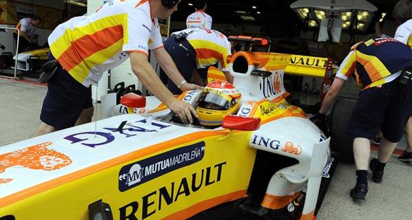 F1: Entrenamientos libres 1 del GP de Alemania