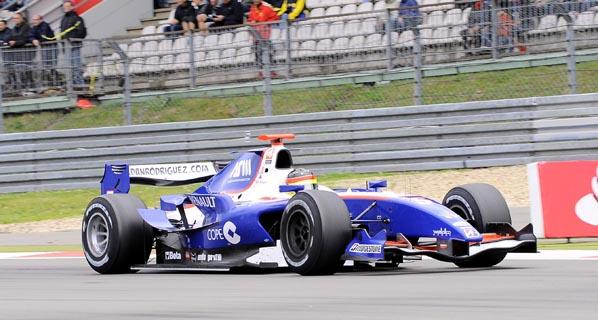 GP2: Roldán Rodríguez partirá segundo