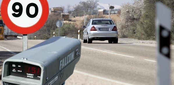 DGT: nueva campaña de control de velocidad