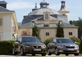 Seat Exeo 2.0 TDi vs Skoda Superb 2.0 TDi