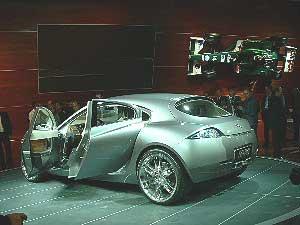Jaguar en el Salón de Frankfurt 2003