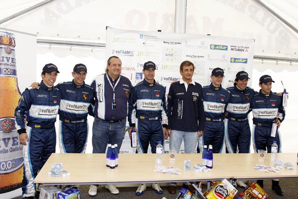 El equipo Nupel en el Mundial de Rallyes