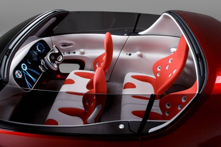 Nissan Intima y RD-BX