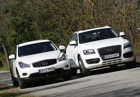 Audi Q5 TFSI Quattro S Tronic vs Infiniti EX 37 GT