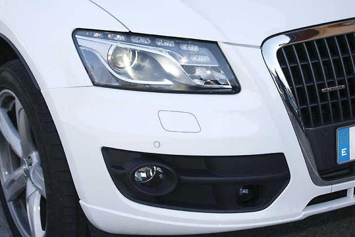 Comparativa Audi Q5 vs. Infinity EX37