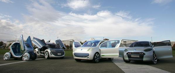 Los coches Renault del futuro