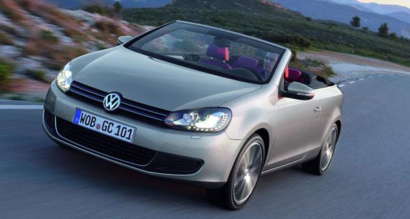 Volkswagen Golf Cabrio: nuevos motores