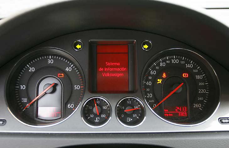 Tres berlinas Diesel: detalles