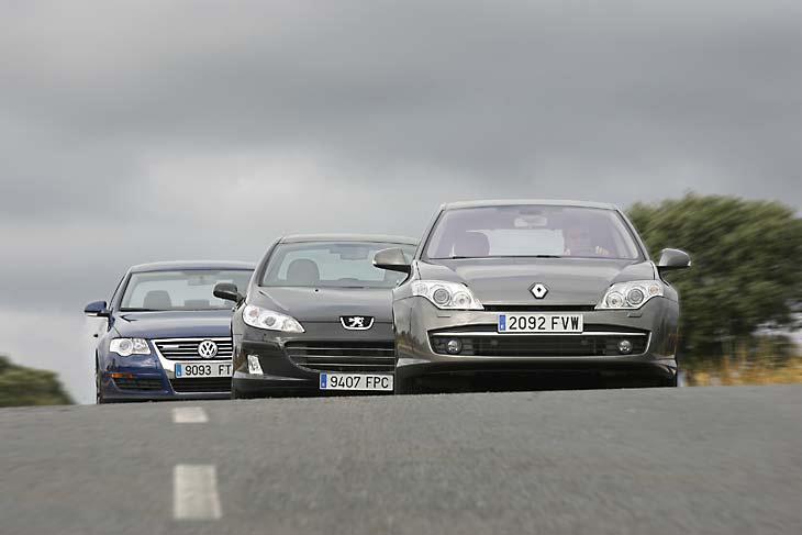 Comparamos tres berlinas Diesel: resultados