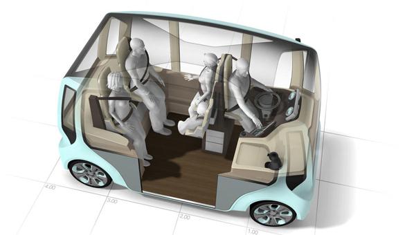 Rinspeed microMAX, buscando nuevas soluciones de movilidad urbana