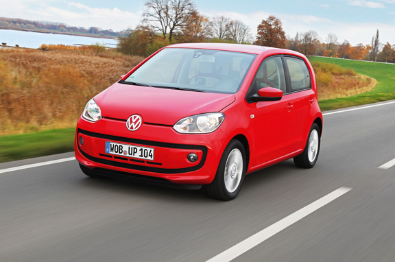 Volkswagen Eco Up! de gas natural