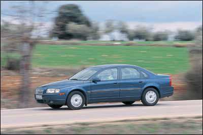 Audi A6 1.9 TDI 6 vel / Volvo S80 2.4D Óptima