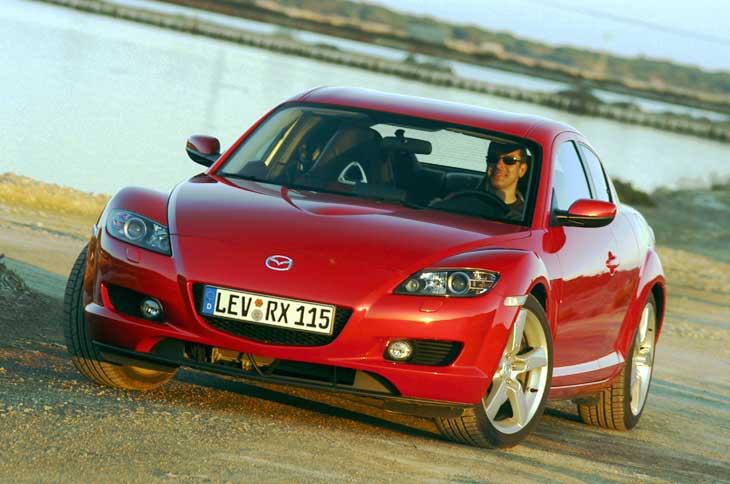 Mazda RX-8 ahora con 192 CV