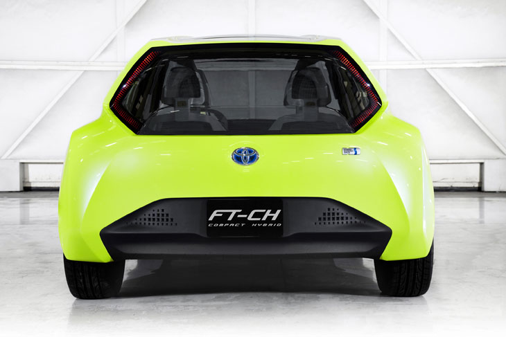 Toyota FT-CH Hybrid Concept.