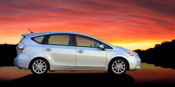 Toyota Prius V Concept y Prius C Concept