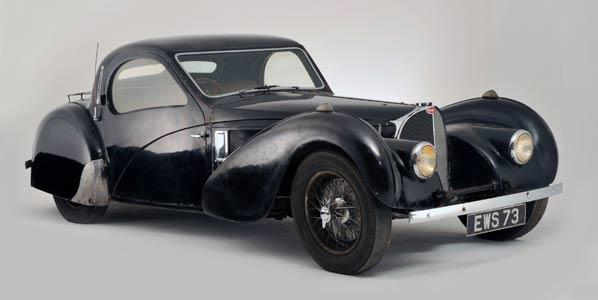 Bugatti Type 57S subastado por 3,4 millones de euros