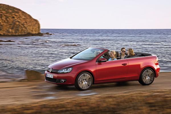 Volkswagen Golf Cabrio el contacto