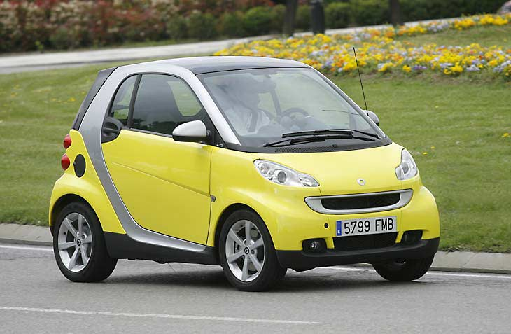Piaggio MP3 o Smart Fortwo