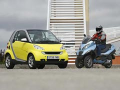 ¿Smart Fortwo o Piaggio MP3?