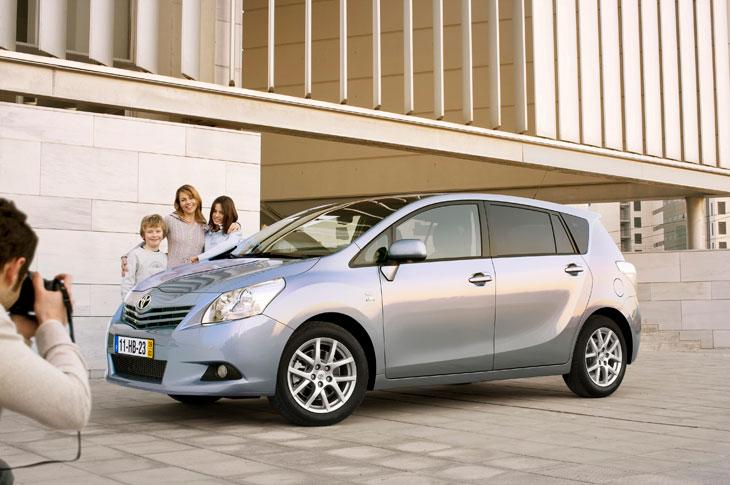 Toyota Verso, especial Toyota 2010