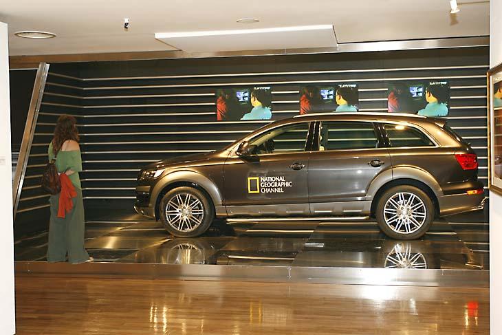 Exposición en el Audi Forum de Madrid