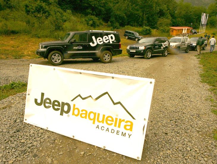 Escuela Jeep en Arties, Lleida.