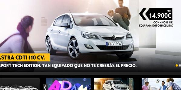 Opel Astra Sport Tech Edition