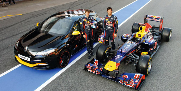 Renault Mégane Red Bull Racing Rb7