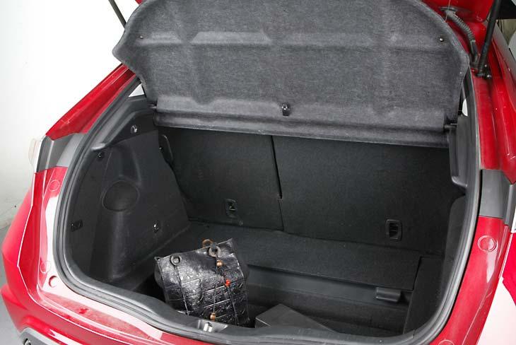 Honda Civic: un maletero muy, muy amplio.
