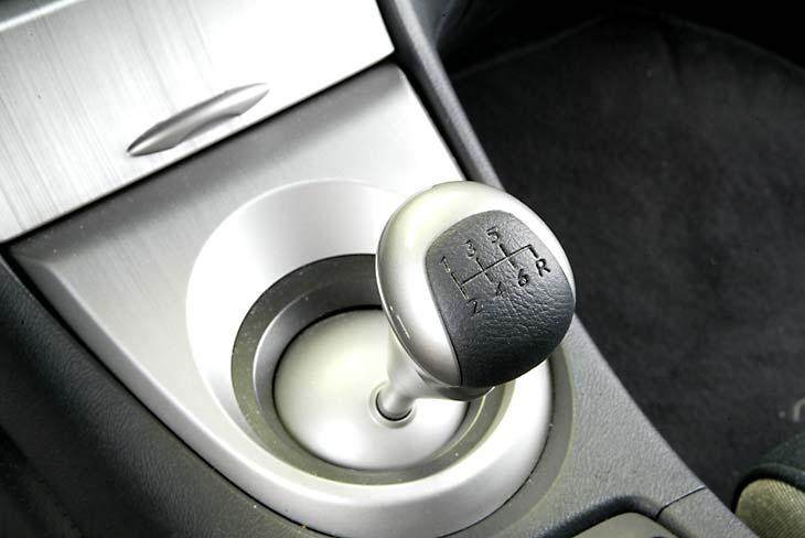 Honda Civic: cambio de marchas con un agradable tacto de la palanca.