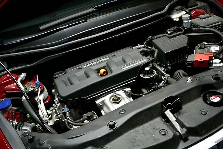 Honda Civic: el potente motor 1.8i anima esta versión.