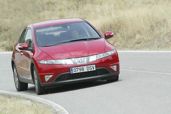Honda Civic: el comportamiento del vehículo es muy agradable.