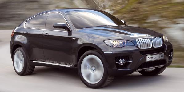 BMW X6 Concept: el X5 se hace coupé