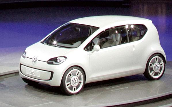 Volkswagen Up Concept: el coche del ciberpueblo