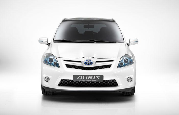 Descube el Toyota Auris híbrido.