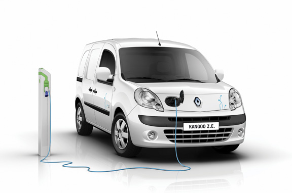 Renault Kangoo Z.E., comercial eléctrico