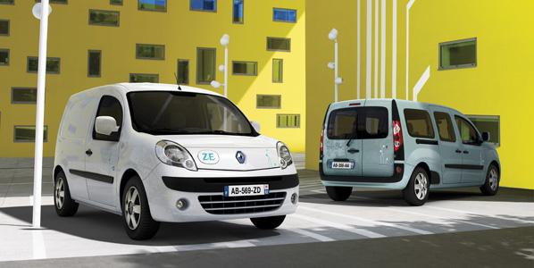 Renault entregará 15.637 Kangoo eléctricos a empresas francesas