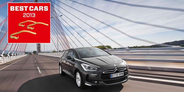 Concurso Best Cars 2013: gana un Citroën DS5