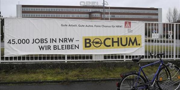 Opel anuncia el fin de la producción en su fábrica de Bochum