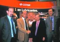 Acuerdo de Cepsa con Motorpress-Ibérica