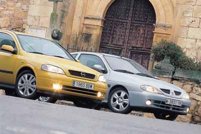 Opel Astra 2.2 16V Sport / Renault Mégane Coupé 2.0 IDE