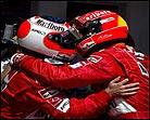 Barrichello puede con los Schumacher en la parrilla de Austria