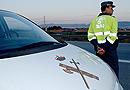 La Guardia Civil se la juega en carretera