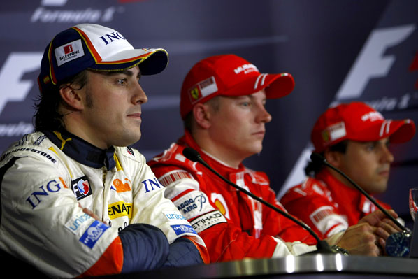 Alonso a Ferrari en 2010