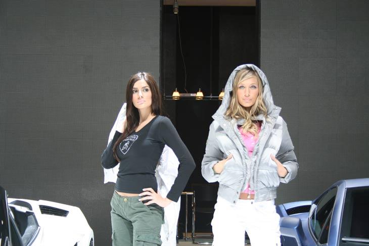 Las chicas del Salón de Detroit 2009